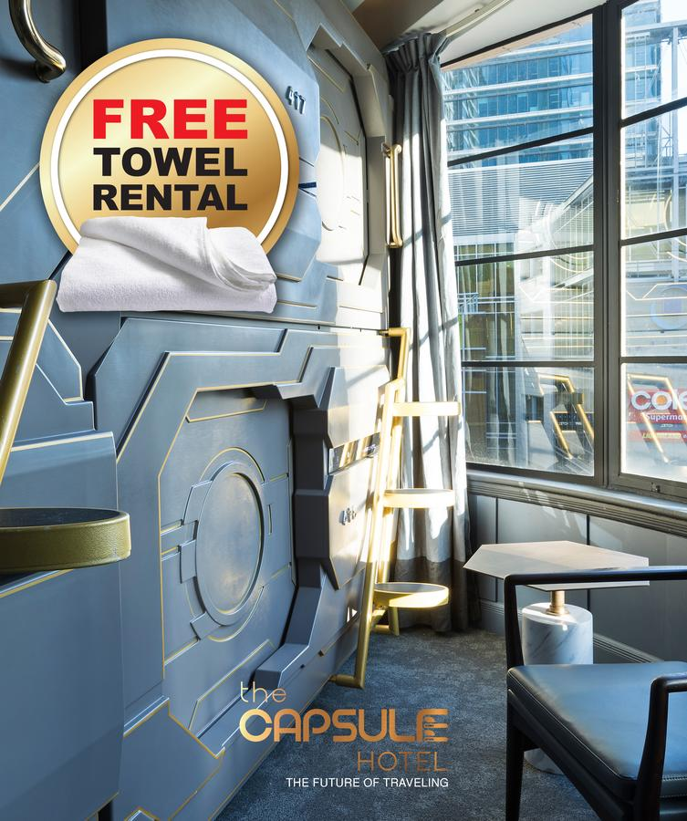The Capsule Hotel - Accommodation Perth