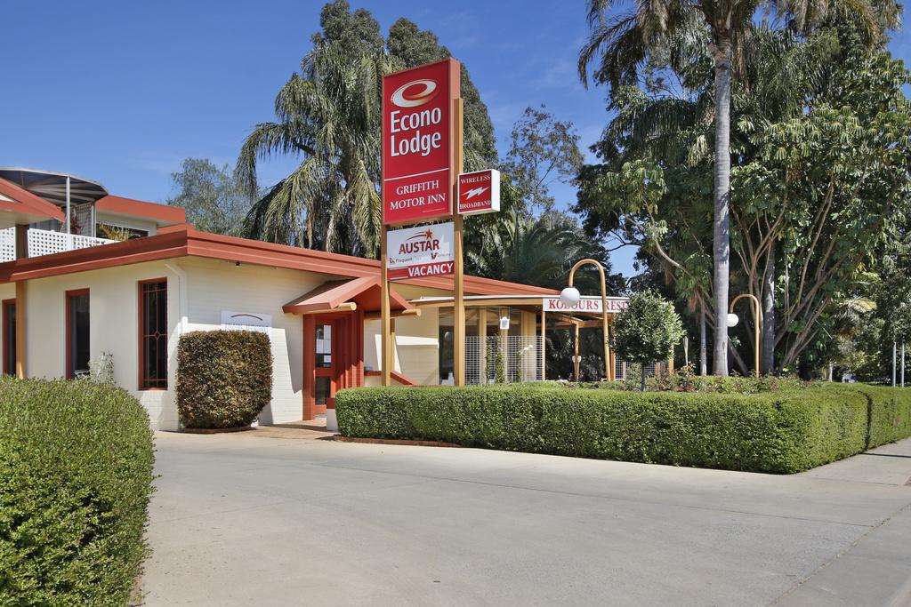 Econo Lodge Griffith Motor Inn - Accommodation Perth