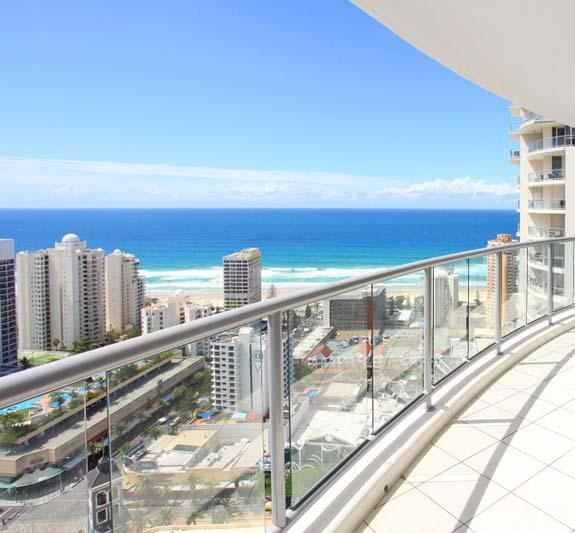 Beach Stay - Ocean  Riverview resort Chevron Renaissance central Surfers Paradise - Accommodation Perth