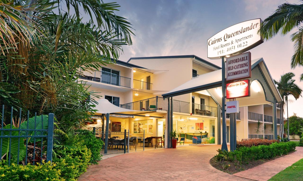 Cairns Queenslander Hotel  Apartments - Accommodation Perth
