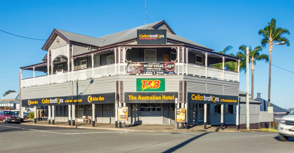 Australian Hotel - Gympie - Accommodation Perth